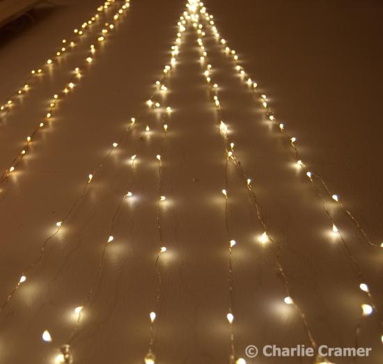 Ljus på vägg