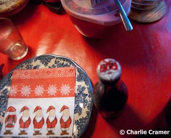 julbord duktninig julen 2015 tomtar kapsyl foto charlie cramer kulturcramar